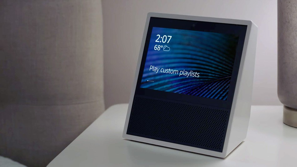 Amazon's Echo Show - 1st Gen, reviewed in this aricle.