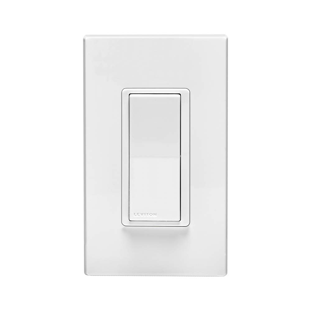 The Leviton Decora, a smart light switch. Used for smart home automation, this is an excellent switch, but is a bit pricey.