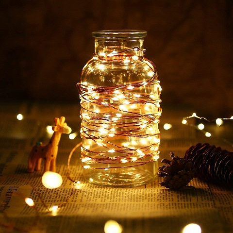 The Dukora LED Fairy String Light is very popular with its customers. Add a beautiful effect with these inexpensive LED lights.