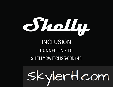 The Shelly app will setup your new device on your WiFi network.